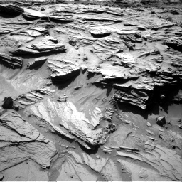 Nasa's Mars rover Curiosity acquired this image using its Right Navigation Camera on Sol 1298, at drive 2974, site number 53
