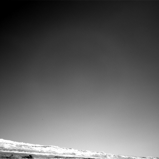 NASA's Mars rover Curiosity acquired this image using its Left Navigation Camera (Navcams) on Sol 1299