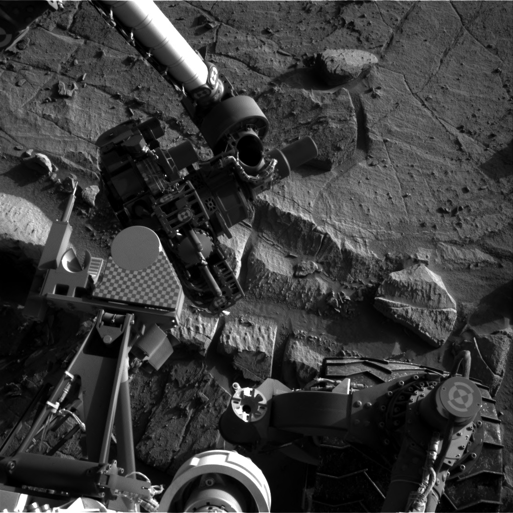 Nasa's Mars rover Curiosity acquired this image using its Right Navigation Camera on Sol 1300, at drive 2980, site number 53