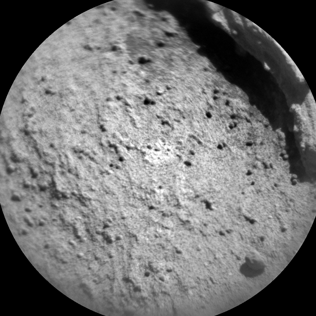 Nasa's Mars rover Curiosity acquired this image using its Chemistry & Camera (ChemCam) on Sol 1300, at drive 2980, site number 53