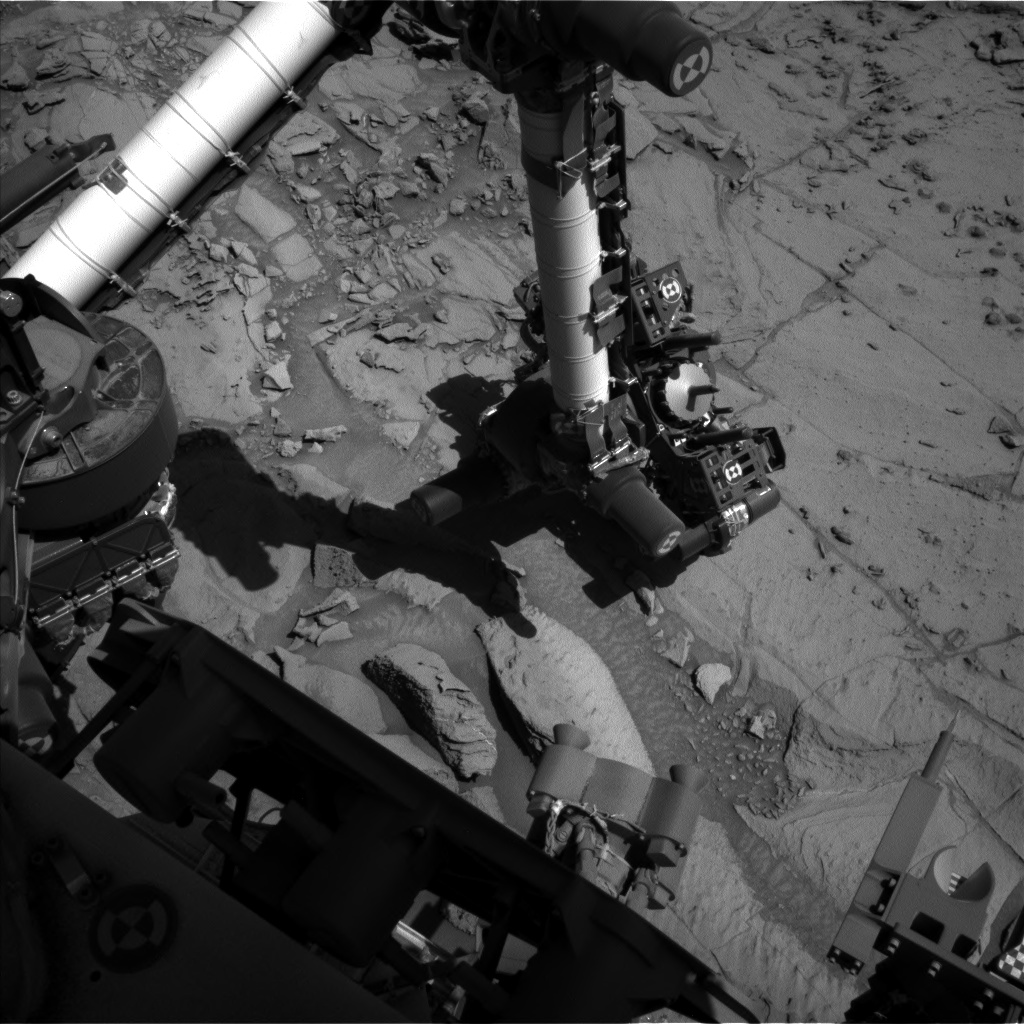 Nasa's Mars rover Curiosity acquired this image using its Left Navigation Camera on Sol 1301, at drive 2980, site number 53