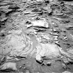 Nasa's Mars rover Curiosity acquired this image using its Left Navigation Camera on Sol 1301, at drive 3028, site number 53
