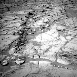 Nasa's Mars rover Curiosity acquired this image using its Left Navigation Camera on Sol 1301, at drive 3058, site number 53