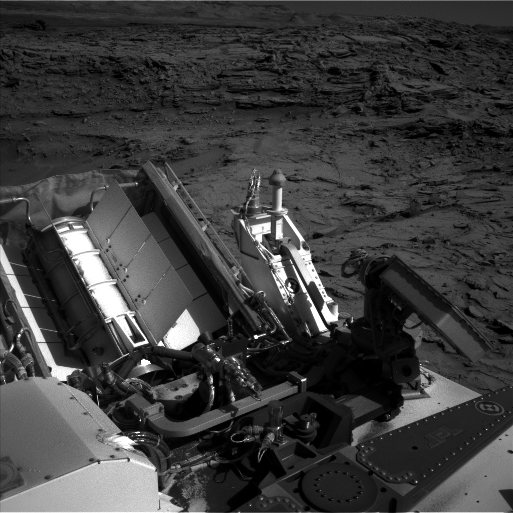 Nasa's Mars rover Curiosity acquired this image using its Left Navigation Camera on Sol 1301, at drive 0, site number 54