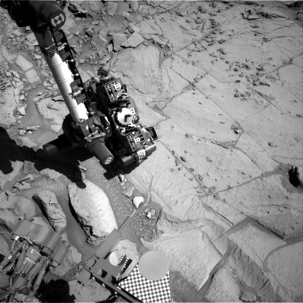Nasa's Mars rover Curiosity acquired this image using its Right Navigation Camera on Sol 1301, at drive 2980, site number 53