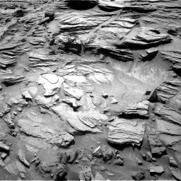 Nasa's Mars rover Curiosity acquired this image using its Right Navigation Camera on Sol 1301, at drive 2986, site number 53