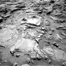 Nasa's Mars rover Curiosity acquired this image using its Right Navigation Camera on Sol 1301, at drive 3010, site number 53