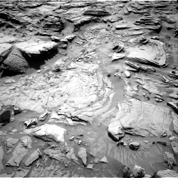 Nasa's Mars rover Curiosity acquired this image using its Right Navigation Camera on Sol 1301, at drive 3016, site number 53