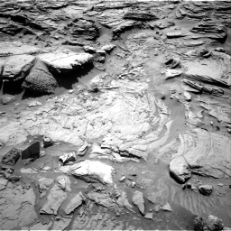 Nasa's Mars rover Curiosity acquired this image using its Right Navigation Camera on Sol 1301, at drive 3022, site number 53