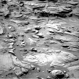 Nasa's Mars rover Curiosity acquired this image using its Right Navigation Camera on Sol 1301, at drive 3034, site number 53