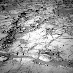 Nasa's Mars rover Curiosity acquired this image using its Right Navigation Camera on Sol 1301, at drive 3062, site number 53