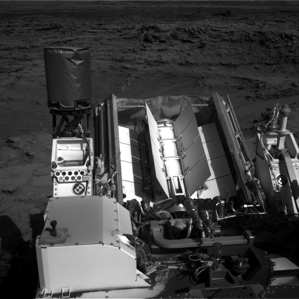 Nasa's Mars rover Curiosity acquired this image using its Right Navigation Camera on Sol 1301, at drive 0, site number 54