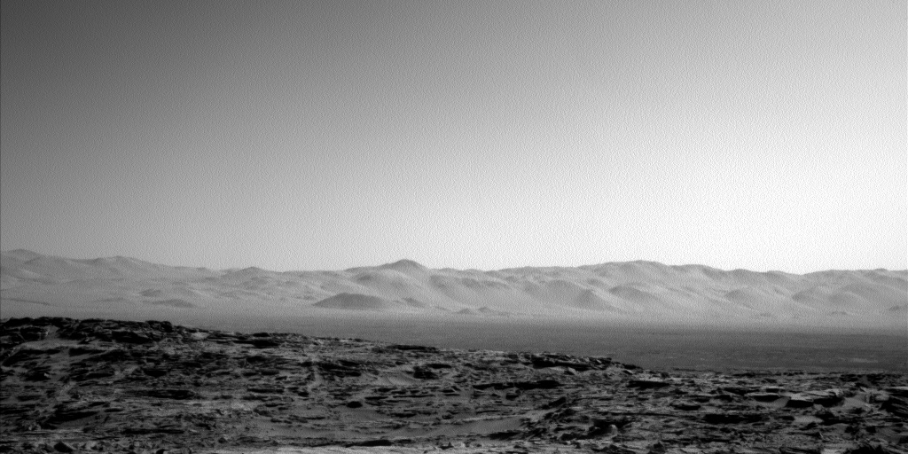 Nasa's Mars rover Curiosity acquired this image using its Left Navigation Camera on Sol 1302, at drive 0, site number 54