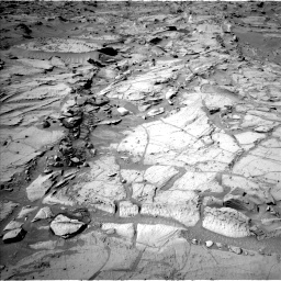Nasa's Mars rover Curiosity acquired this image using its Left Navigation Camera on Sol 1303, at drive 0, site number 54