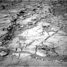Nasa's Mars rover Curiosity acquired this image using its Right Navigation Camera on Sol 1303, at drive 0, site number 54