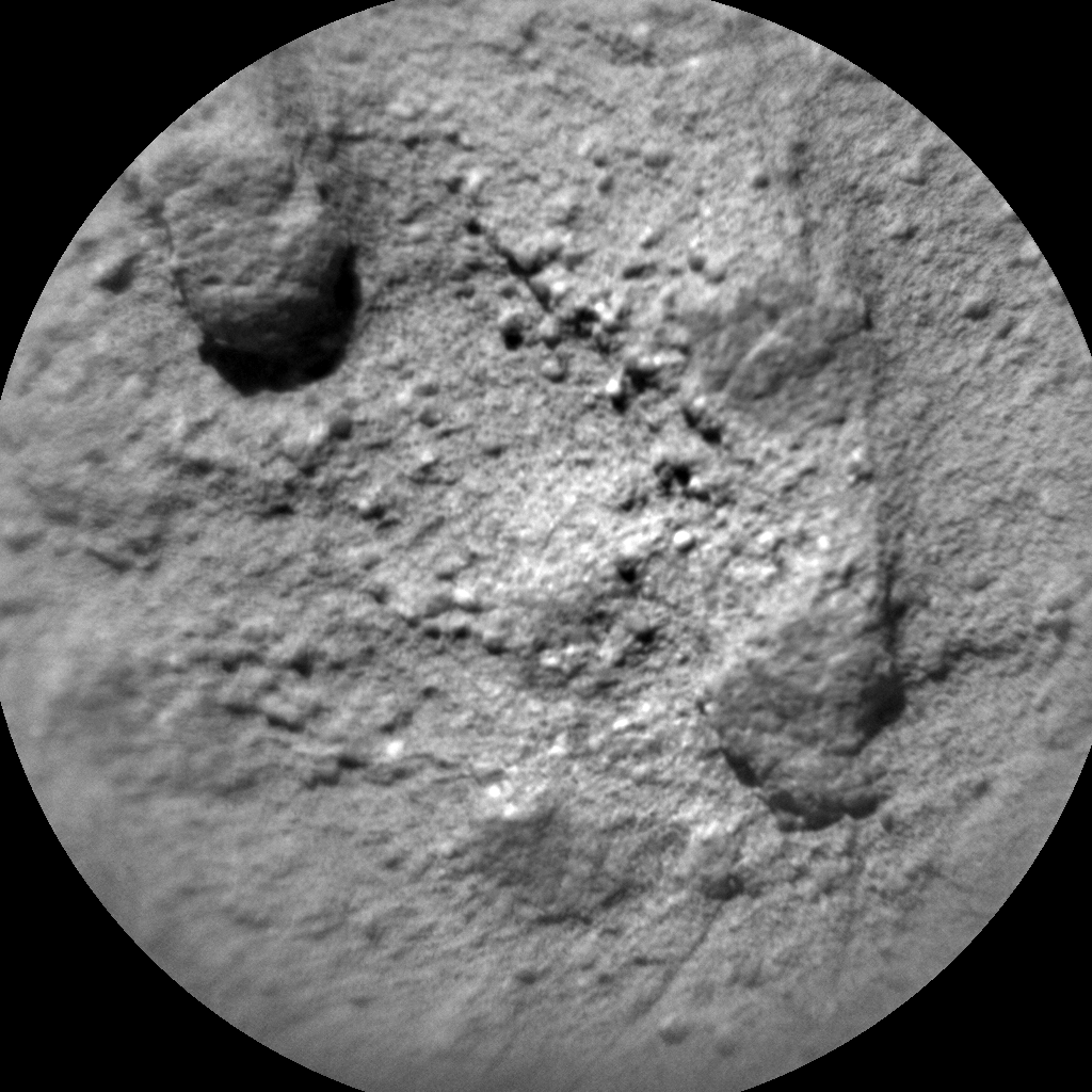 Nasa's Mars rover Curiosity acquired this image using its Chemistry & Camera (ChemCam) on Sol 1303, at drive 0, site number 54