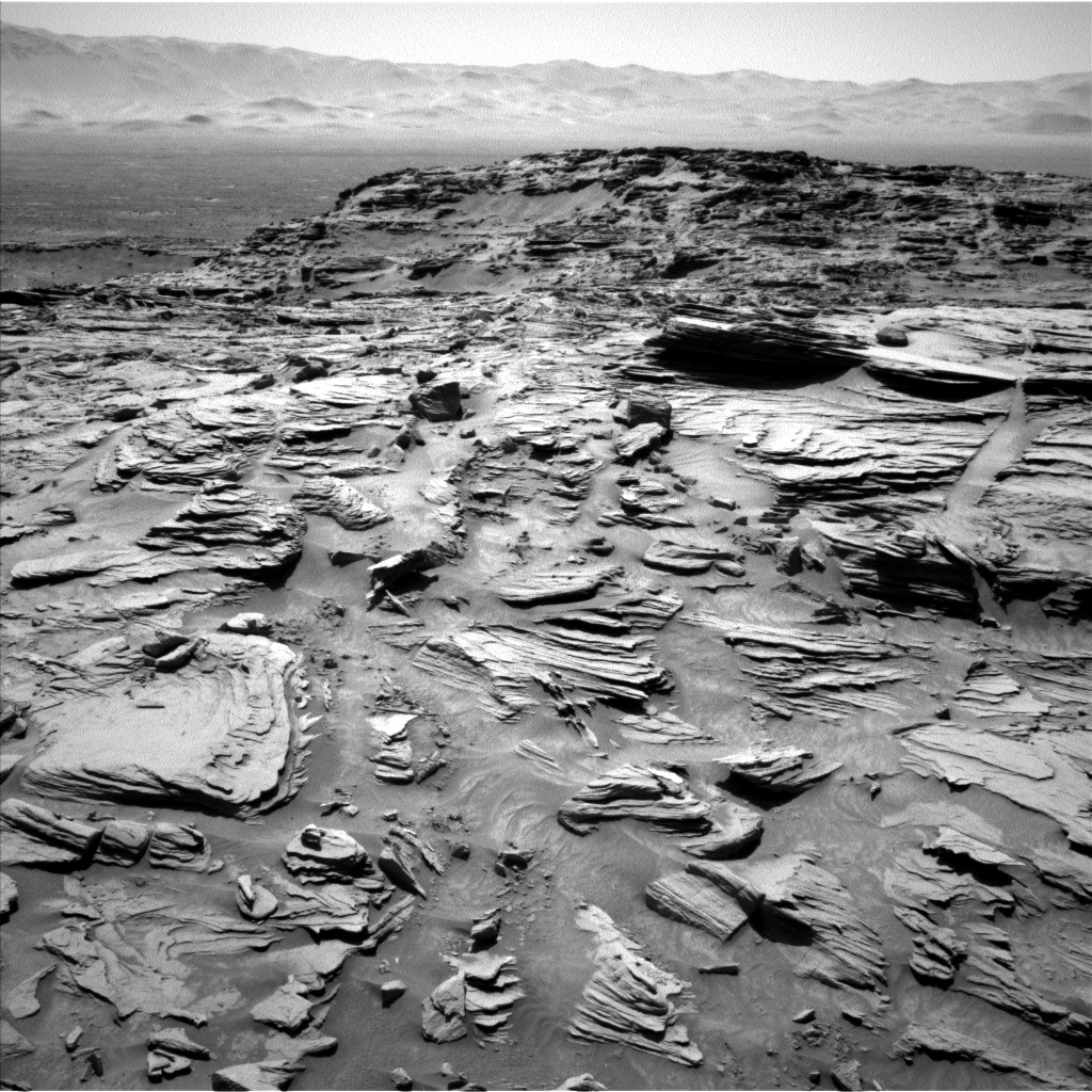 NASA's Mars rover Curiosity acquired this image using its Left Navigation Camera (Navcams) on Sol 1305