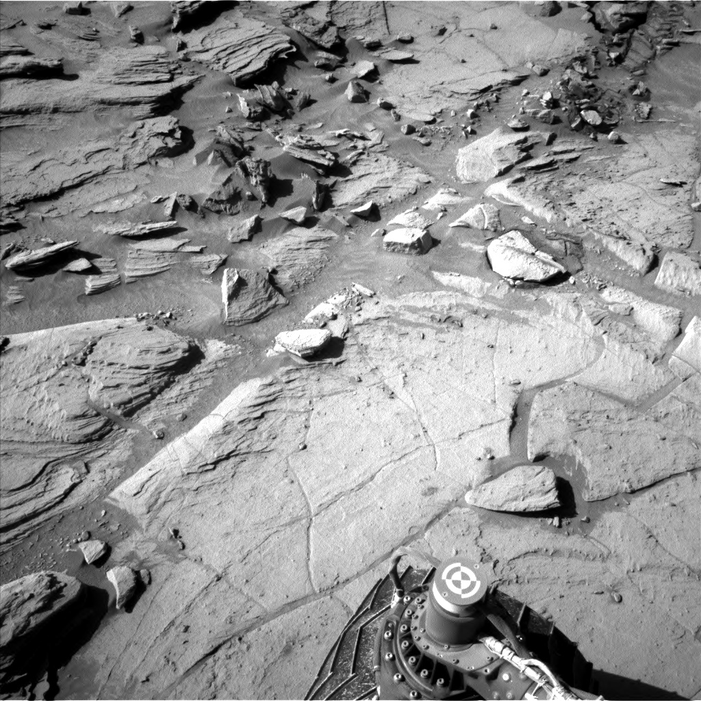 Nasa's Mars rover Curiosity acquired this image using its Left Navigation Camera on Sol 1305, at drive 10, site number 54