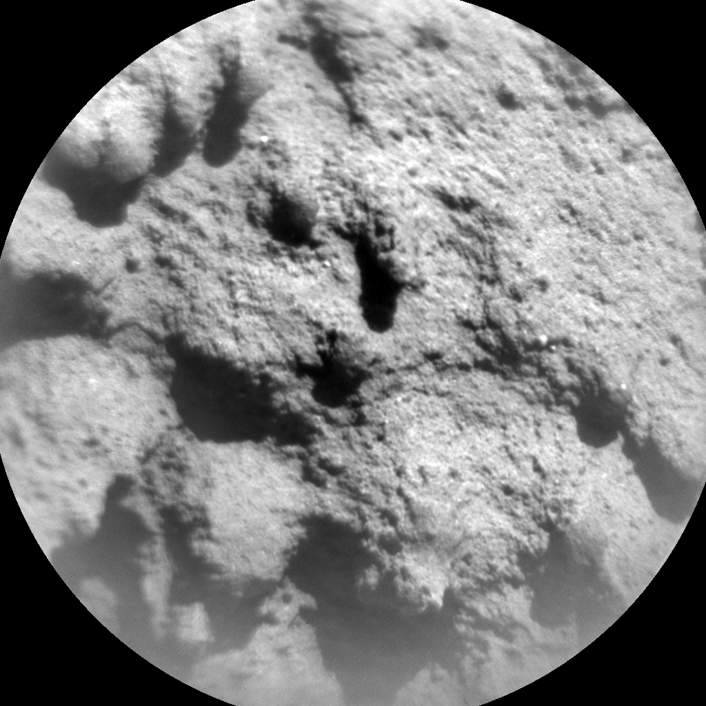 Nasa's Mars rover Curiosity acquired this image using its Chemistry & Camera (ChemCam) on Sol 1305, at drive 6, site number 54