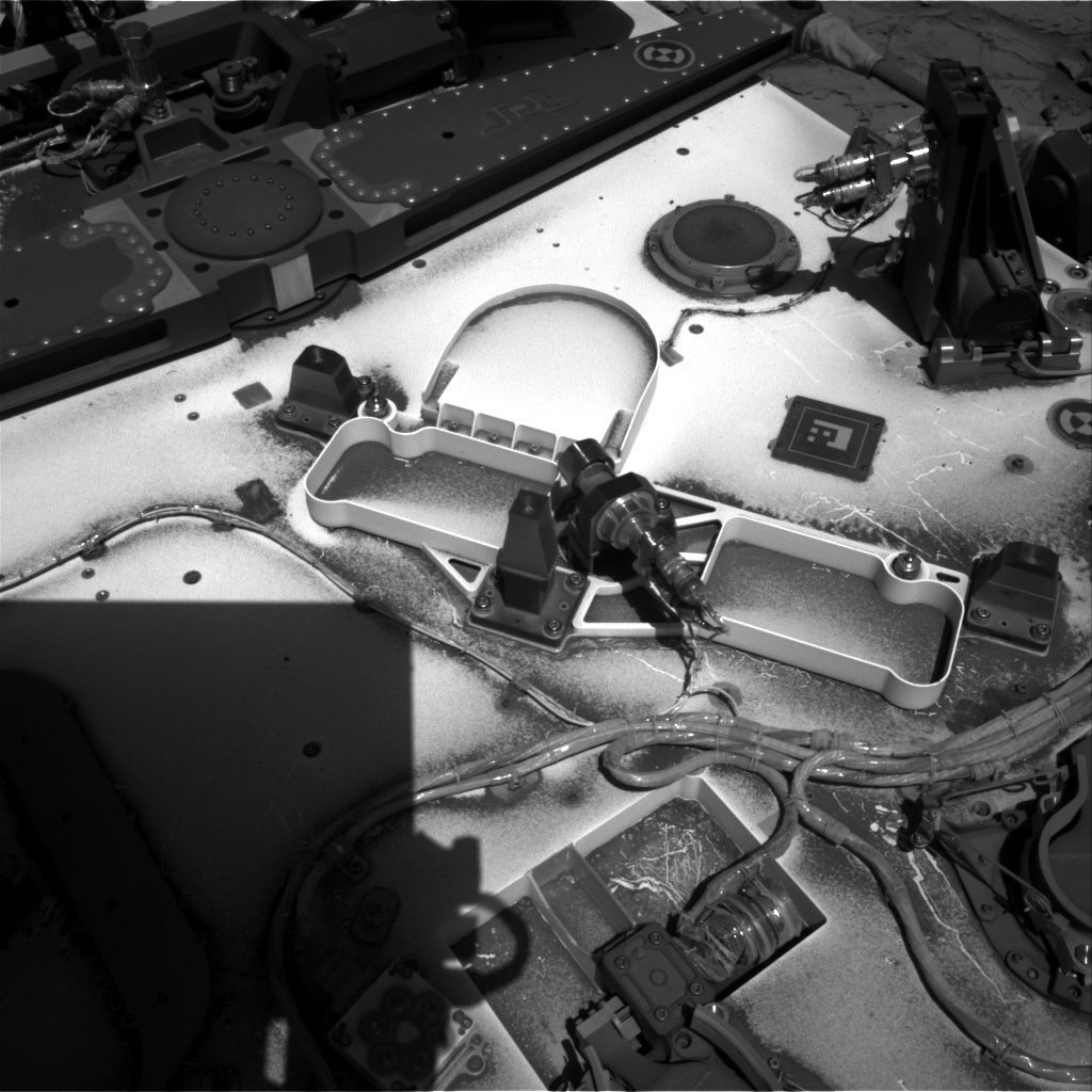 Nasa's Mars rover Curiosity acquired this image using its Right Navigation Camera on Sol 1306, at drive 10, site number 54