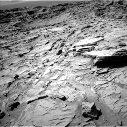Nasa's Mars rover Curiosity acquired this image using its Left Navigation Camera on Sol 1309, at drive 70, site number 54