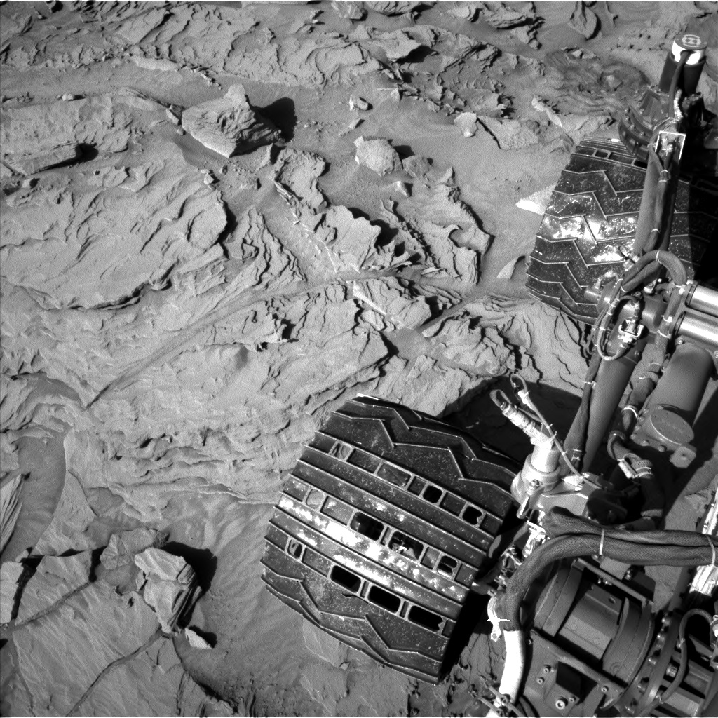 Nasa's Mars rover Curiosity acquired this image using its Left Navigation Camera on Sol 1309, at drive 88, site number 54