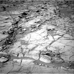 Nasa's Mars rover Curiosity acquired this image using its Right Navigation Camera on Sol 1309, at drive 10, site number 54