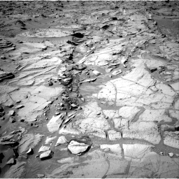 Nasa's Mars rover Curiosity acquired this image using its Right Navigation Camera on Sol 1309, at drive 16, site number 54