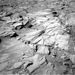 Nasa's Mars rover Curiosity acquired this image using its Right Navigation Camera on Sol 1309, at drive 28, site number 54