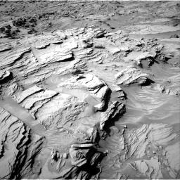 Nasa's Mars rover Curiosity acquired this image using its Right Navigation Camera on Sol 1309, at drive 46, site number 54