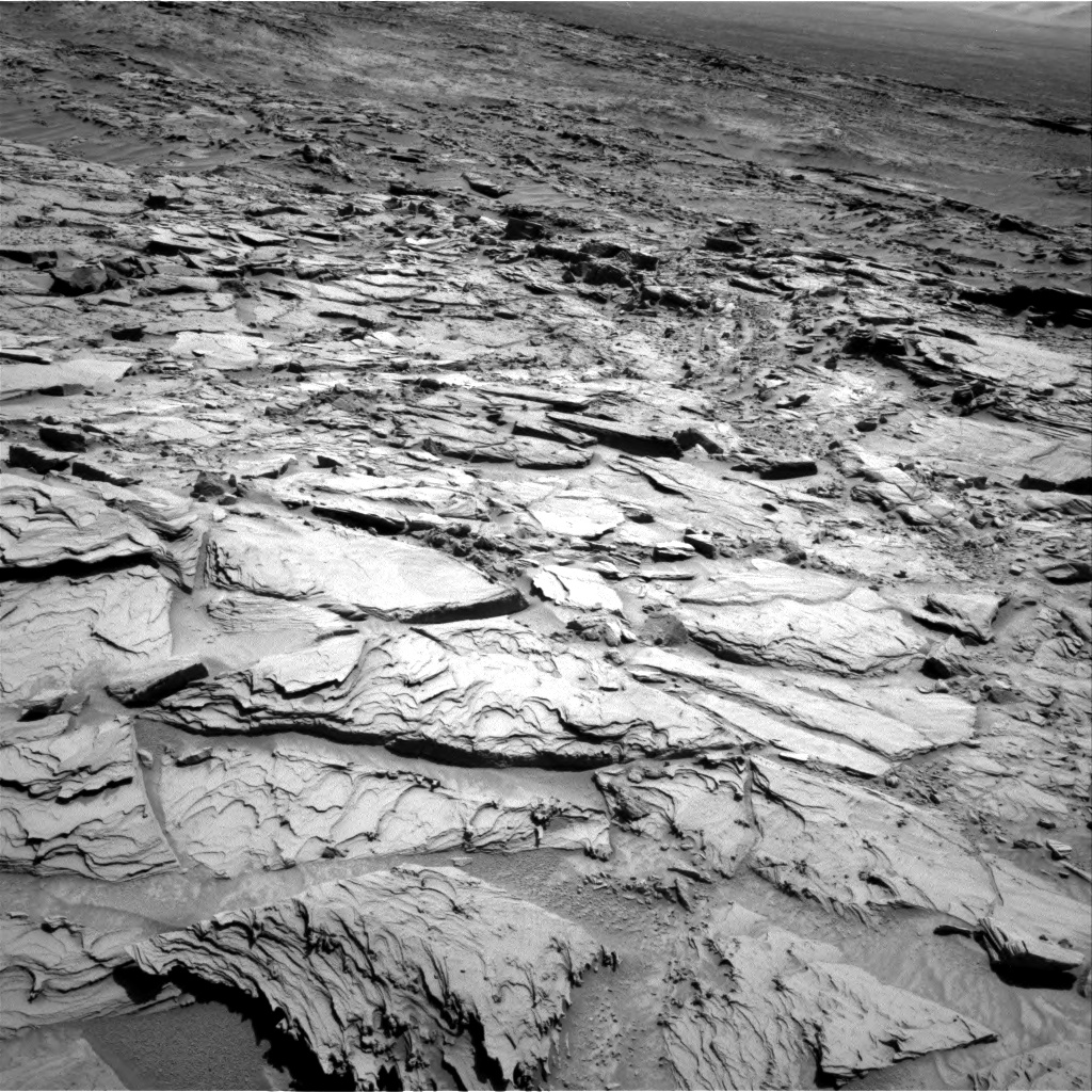 Nasa's Mars rover Curiosity acquired this image using its Right Navigation Camera on Sol 1309, at drive 64, site number 54
