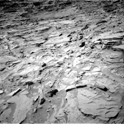 Nasa's Mars rover Curiosity acquired this image using its Right Navigation Camera on Sol 1309, at drive 76, site number 54