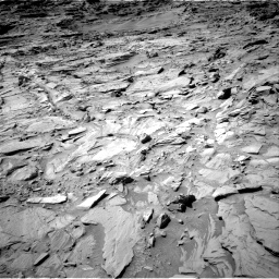 Nasa's Mars rover Curiosity acquired this image using its Right Navigation Camera on Sol 1309, at drive 82, site number 54