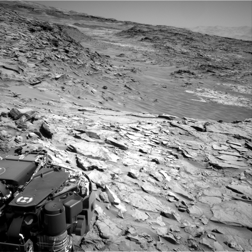 Nasa's Mars rover Curiosity acquired this image using its Right Navigation Camera on Sol 1309, at drive 88, site number 54
