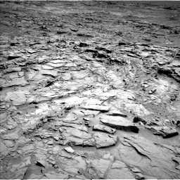 Nasa's Mars rover Curiosity acquired this image using its Left Navigation Camera on Sol 1310, at drive 88, site number 54