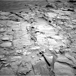 Nasa's Mars rover Curiosity acquired this image using its Left Navigation Camera on Sol 1310, at drive 208, site number 54