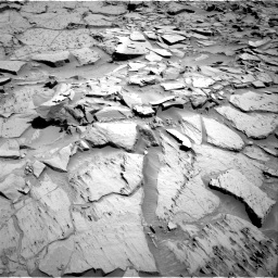 Nasa's Mars rover Curiosity acquired this image using its Right Navigation Camera on Sol 1310, at drive 124, site number 54