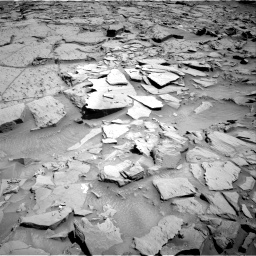 Nasa's Mars rover Curiosity acquired this image using its Right Navigation Camera on Sol 1310, at drive 142, site number 54