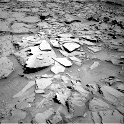 Nasa's Mars rover Curiosity acquired this image using its Right Navigation Camera on Sol 1310, at drive 148, site number 54