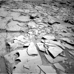Nasa's Mars rover Curiosity acquired this image using its Right Navigation Camera on Sol 1310, at drive 160, site number 54