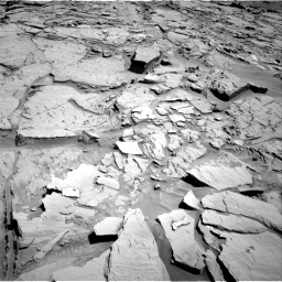 Nasa's Mars rover Curiosity acquired this image using its Right Navigation Camera on Sol 1310, at drive 166, site number 54