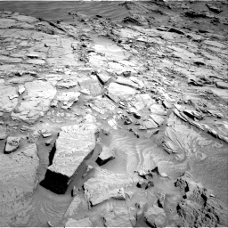 Nasa's Mars rover Curiosity acquired this image using its Right Navigation Camera on Sol 1310, at drive 190, site number 54