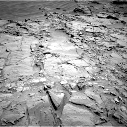 Nasa's Mars rover Curiosity acquired this image using its Right Navigation Camera on Sol 1310, at drive 208, site number 54