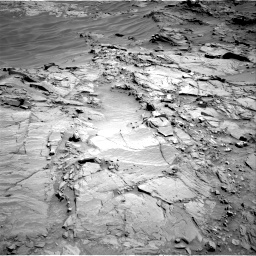 Nasa's Mars rover Curiosity acquired this image using its Right Navigation Camera on Sol 1310, at drive 214, site number 54