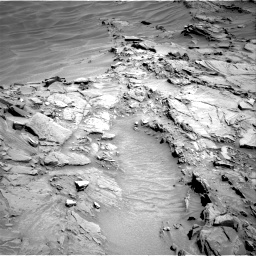 Nasa's Mars rover Curiosity acquired this image using its Right Navigation Camera on Sol 1310, at drive 232, site number 54