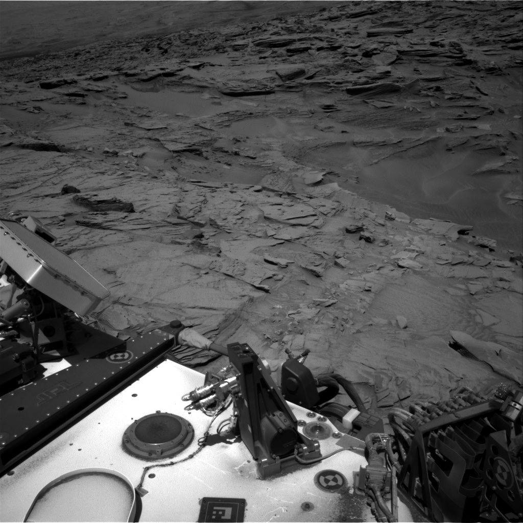 Nasa's Mars rover Curiosity acquired this image using its Right Navigation Camera on Sol 1310, at drive 238, site number 54