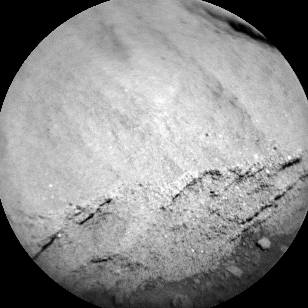 Nasa's Mars rover Curiosity acquired this image using its Chemistry & Camera (ChemCam) on Sol 1310, at drive 88, site number 54