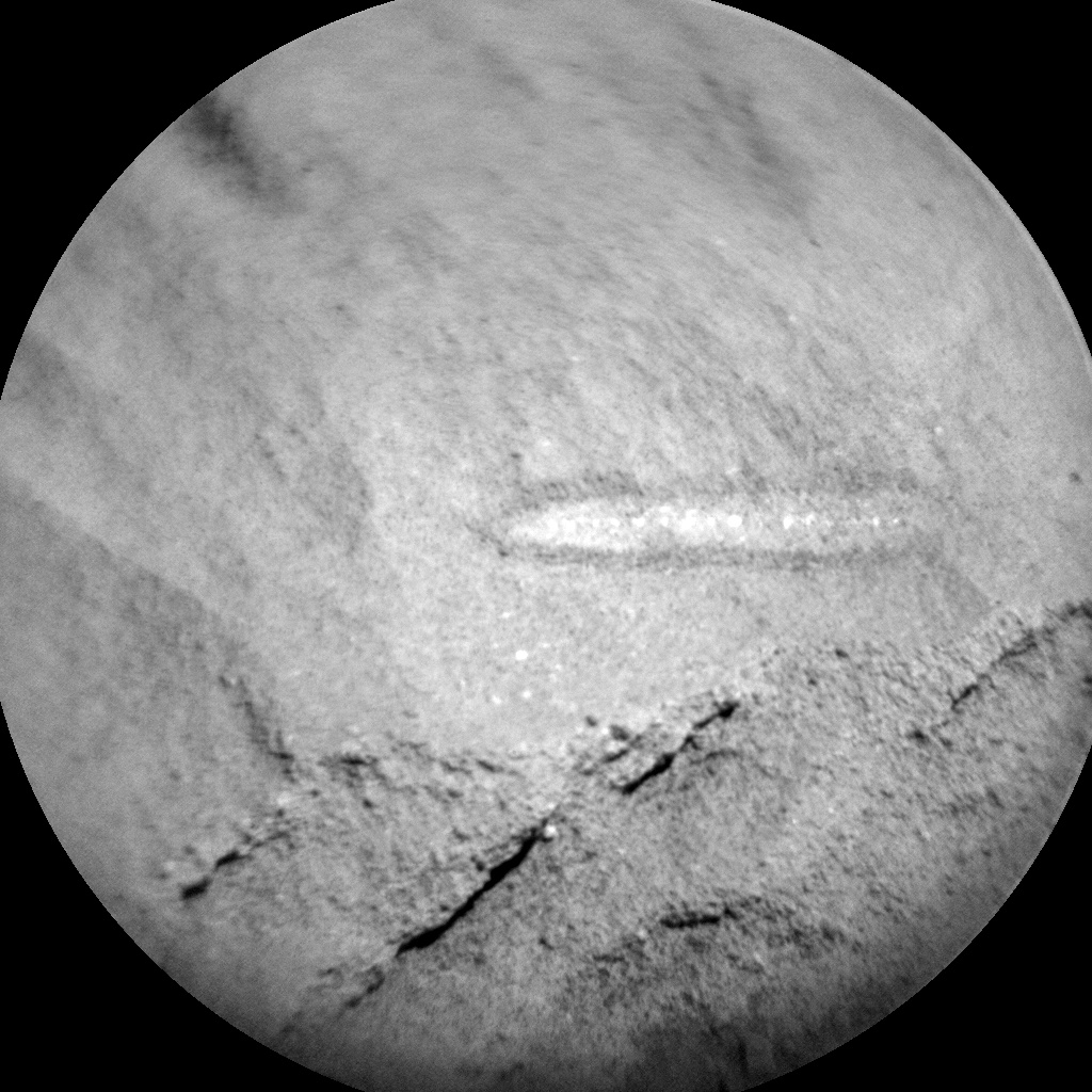 NASA's Mars rover Curiosity acquired this image using its Chemistry & Camera (ChemCam) on Sol 1310