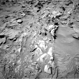 Nasa's Mars rover Curiosity acquired this image using its Left Navigation Camera on Sol 1311, at drive 256, site number 54