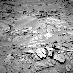 Nasa's Mars rover Curiosity acquired this image using its Left Navigation Camera on Sol 1311, at drive 304, site number 54